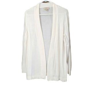 Loft Outlet white lightweight cardigan